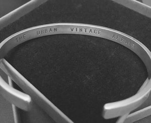 The Sommelier Sam - Handmade Urban Sterling Silver Bangle