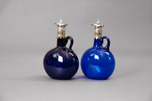 Load image into Gallery viewer, The Stripper Aston - Bristol Blue Decanter Set with Stand