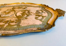 Load image into Gallery viewer, The Tattooist Elena - Large Pink Papier Mache Tray