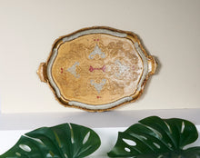 Load image into Gallery viewer, The Tattooist Hazel - Gold Paper Mache Tray