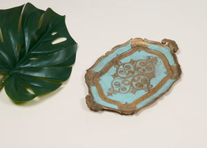 The Tattooist Hunter - Small Decorative Florentine Tray