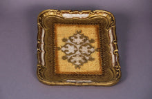 Load image into Gallery viewer, The Tattooist Michael - Gold Small Rectangle Florentine Tray
