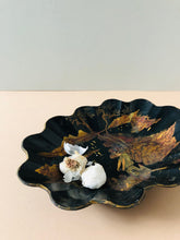 Load image into Gallery viewer, The Tattooist Scott - Antique Papier Mache Lacquer Chinoiserie Bowl