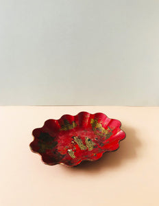 The Tattooist Tom - Antique Papier Mache Lacquer Chinoiserie Bowl