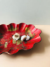 Load image into Gallery viewer, The Tattooist Tom - Antique Papier Mache Lacquer Chinoiserie Bowl