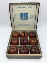 Load image into Gallery viewer, The Director Madison - Vintage Archimedes Apple Fraction Set