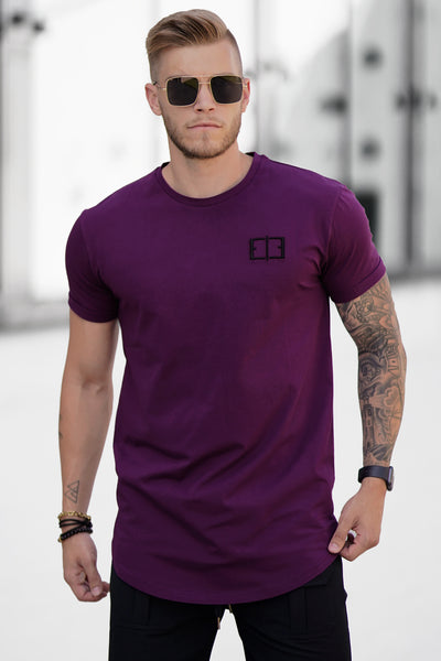 PURPLE LOGO TEE 2.0