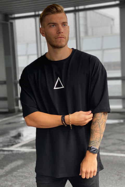 BLACK BALANCE HEAVY OVERSIZED TEE