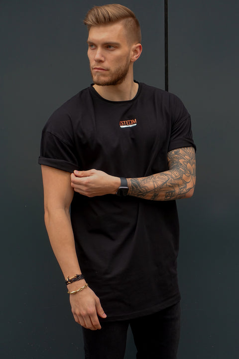 "BLACK ""NWT"" OVERSIZED TEE"