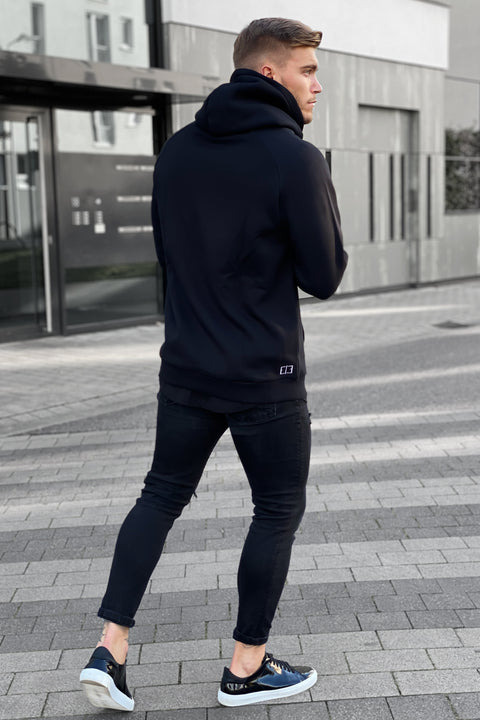 "BLACK ""THE FINEST"" HOODIE"