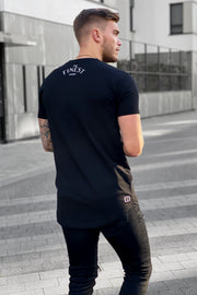 "BLACK ""THE FINEST"" TEE"