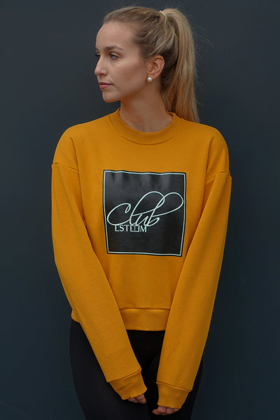 DARK YELLOW SWEATER
