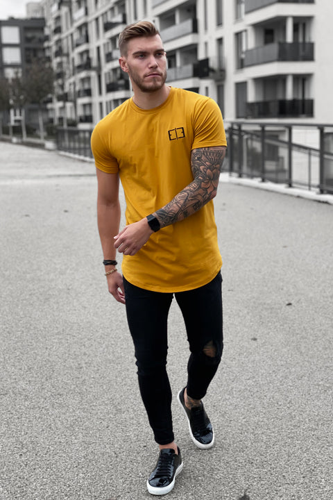 DARK YELLOW LOGO TEE 2.0