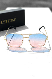 GOLD/BLUE/ROSÉ SUNGLASSES