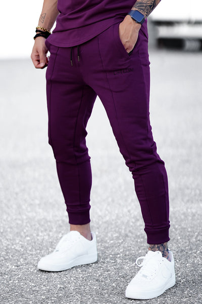 PURPLE BASIC SWEATPANTS
