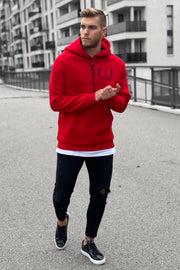 RED CLASSIC HOODIE