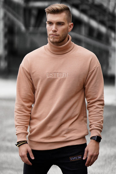 RUST ROLLY SWEATER