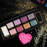 10pcs Eye Combination / Dry / Normal Shadow Daily Makeup / Halloween Makeup / Party Makeup Daily / Shimmer