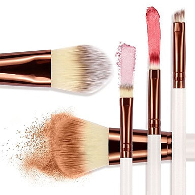 5 pcs Makeup Brushes Professional Makeup Brush Set / Blush Brush / Eyeshadow Brush Synthetic Hair Eco-friendly / Professional / Soft Wood