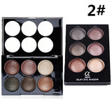 8pcs Eye / Face Combination / Dry / Normal Shadow Powder Daily Makeup / Halloween Makeup / Party Makeup / Shimmer
