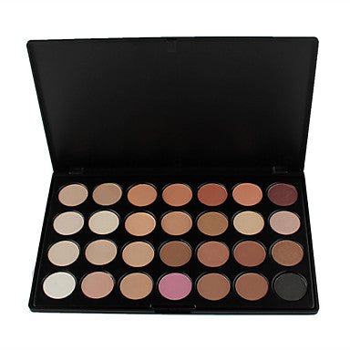 28pcs Eye Combination / Dry / Normal Shadow Powder Daily Makeup / Halloween Makeup / Party Makeup / Matte / Shimmer