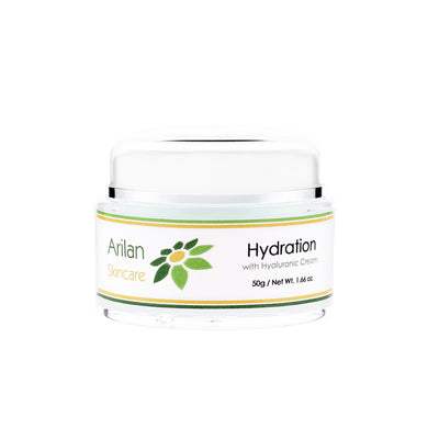 Hydration with Hyaluronic Cream