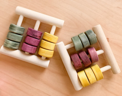 Learn n' Grow Handmade, Organic Abacus