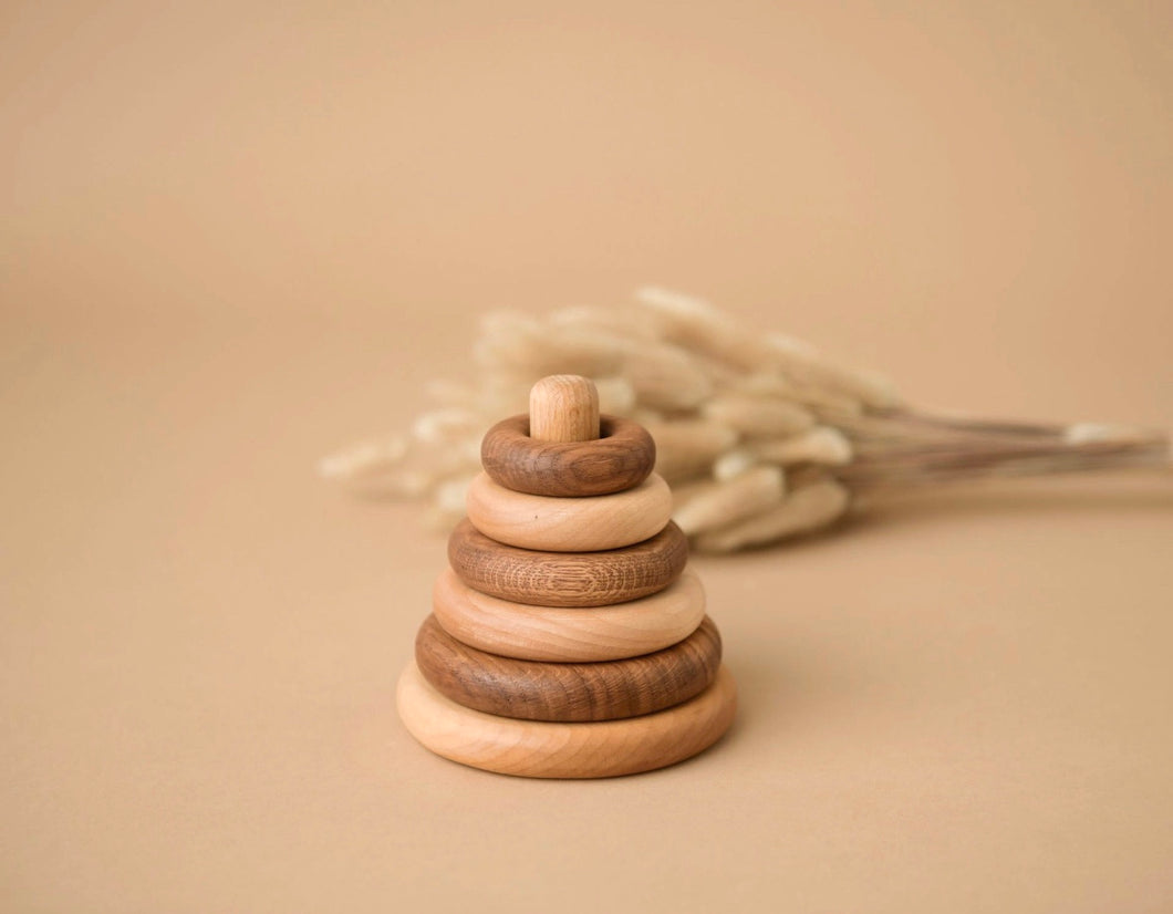 Wooden Stacking Discs