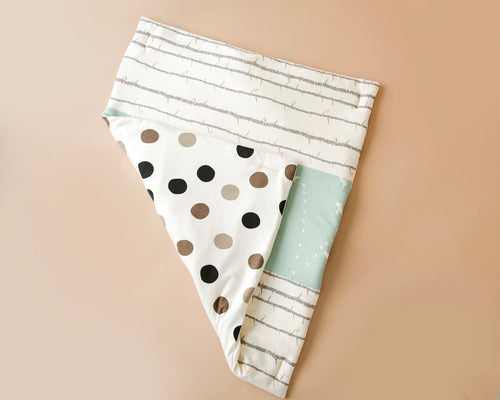 Handmade, Dual-Sided, Organic Cotton Play Mat