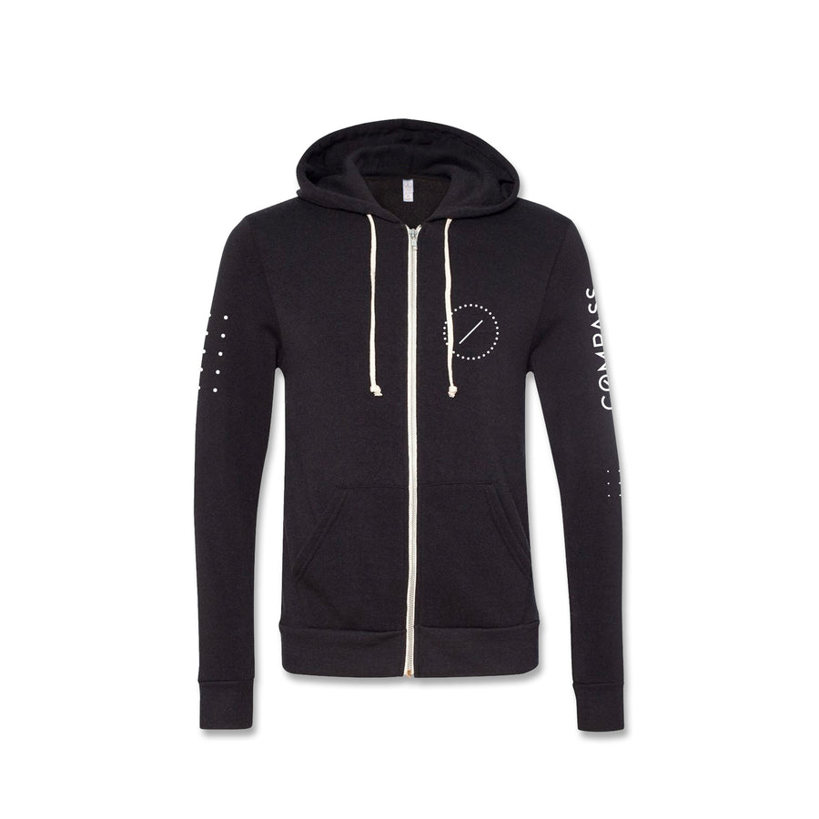 Limited Edition Compass Zip Up Hoodie