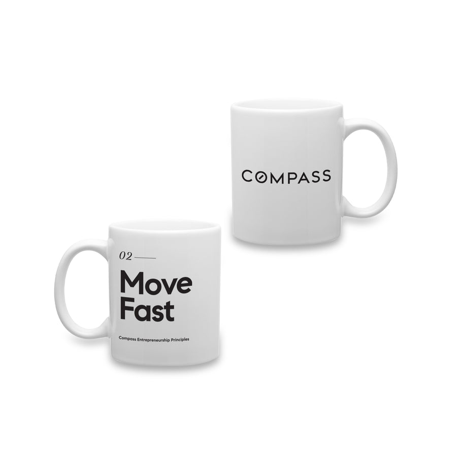 Compass Entrepreneurship Principles Mug
