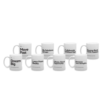Compass Entrepreneurship Principles Mugs