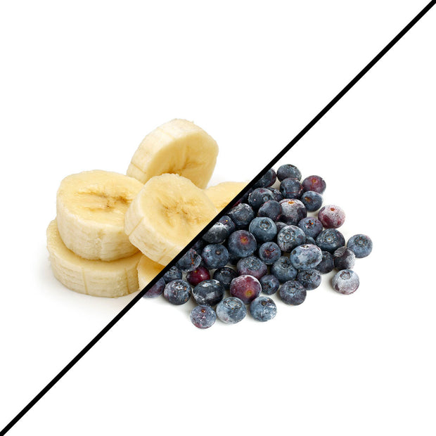 Frozen Produce - Banana + Blueberries (2 x 1kg)