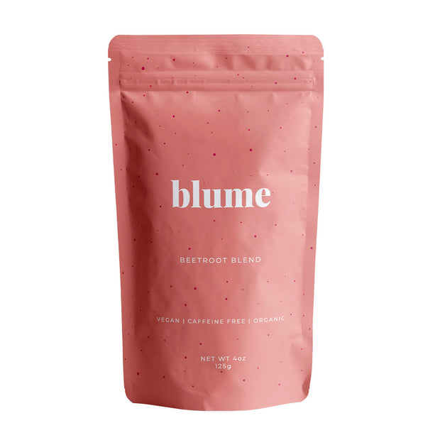 Latte powder from Blume. Create sumptuous plantmilk lattes at home.