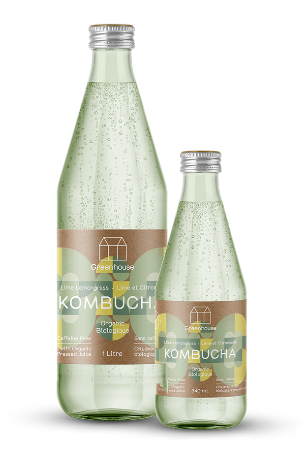 Lime Lemongrass Kombucha