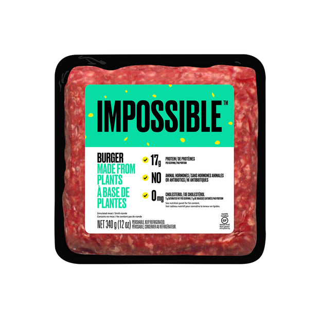 Impossible Burger Made from Plants