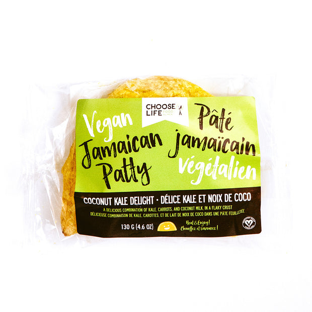 Choose Life Foods Coconut Kale Jamaican Patties