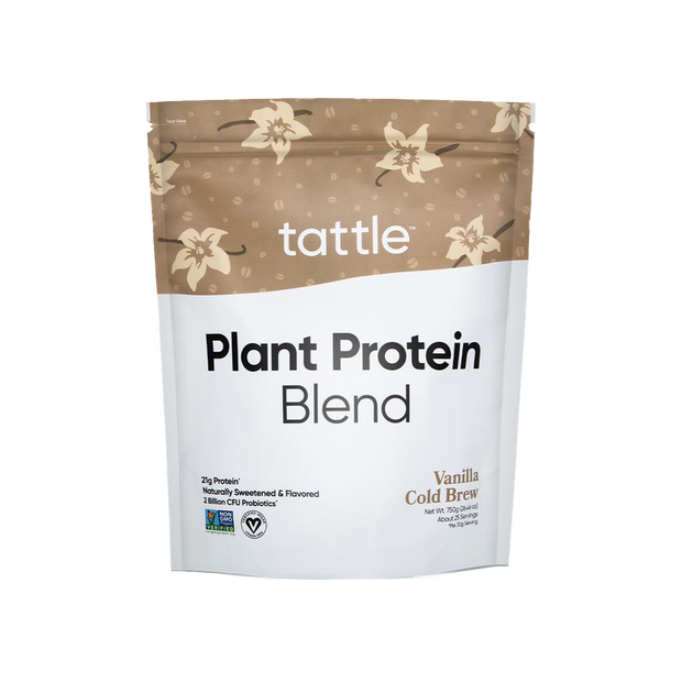 Tattle Plant Protein Blend - Vanilla Cold Brew