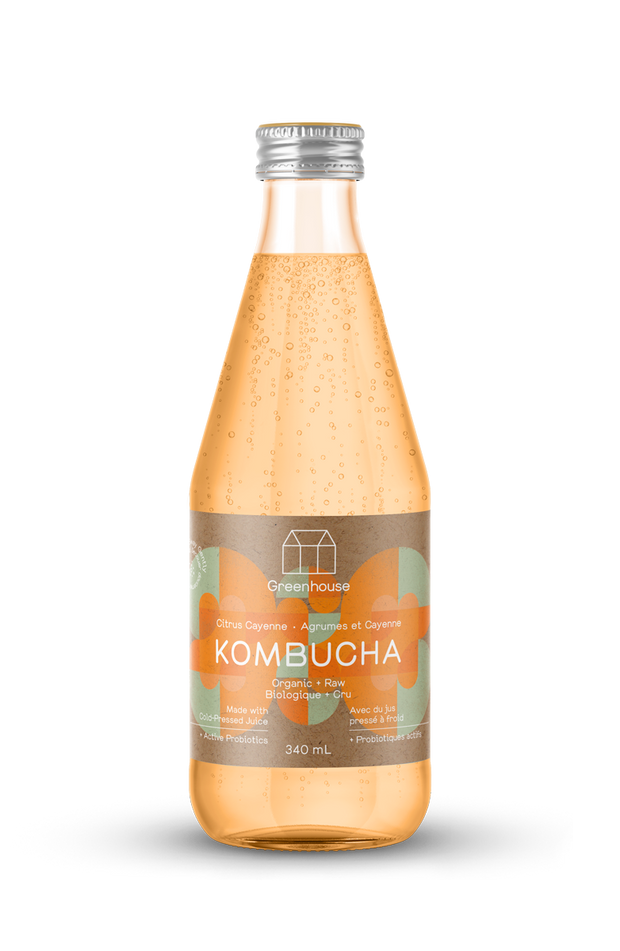 Spicy and zesty citrus cayenne kombucha. These are lower in sugar than most market kombuchas. Made with organic orange juice and cayenne extract.