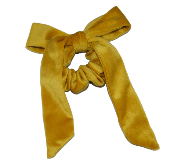 Yellow Velvet Bow