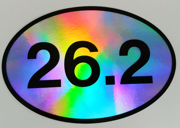 Holographic 26.2 Oval