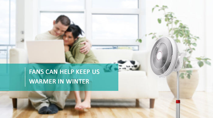 Ideal Home UK - Did you know that fans can help keep us warmer in winter?