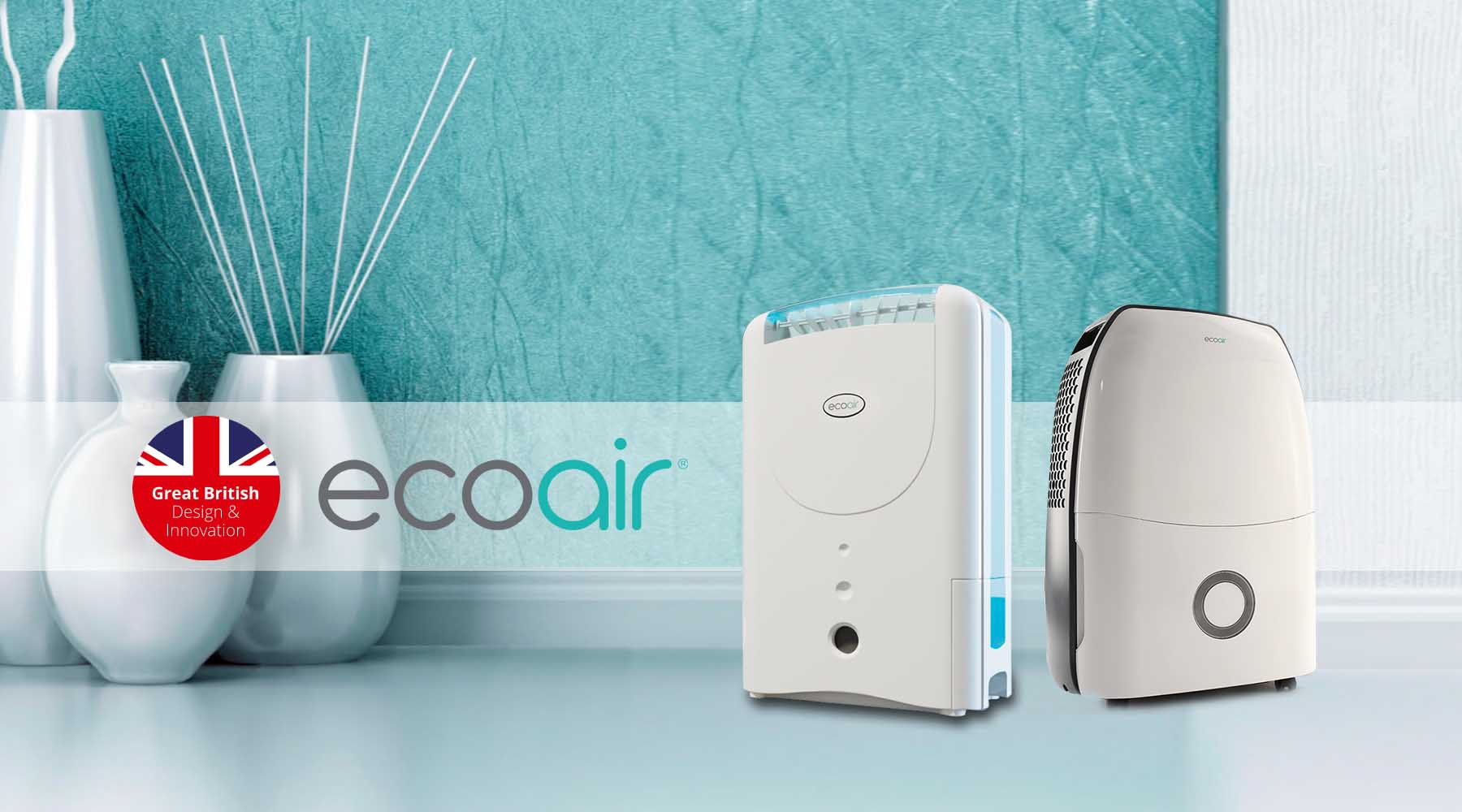 Which UK names EcoAir - The Most Reliable Brand in Dehumidfiers