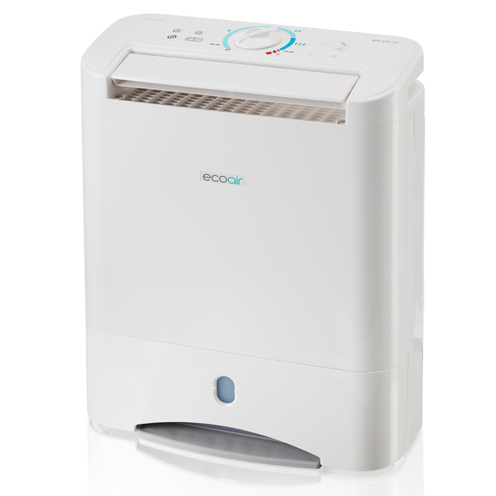 EcoAir DD3 SIMPLE Desiccant Dehumidifier with Nano Silver Filter 10L per day