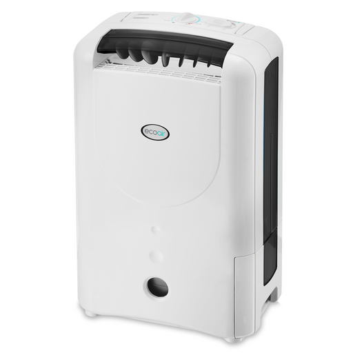 EcoAir DD1 SIMPLE Desiccant Dehumidifier with nano silver filter 7L per day - Black - Certified Refurbished - Like New