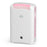 EcoAir DD1 CLASSIC MK5 Desiccant Dehumidifier with Ioniser and Silver Filter, 7L - Pink