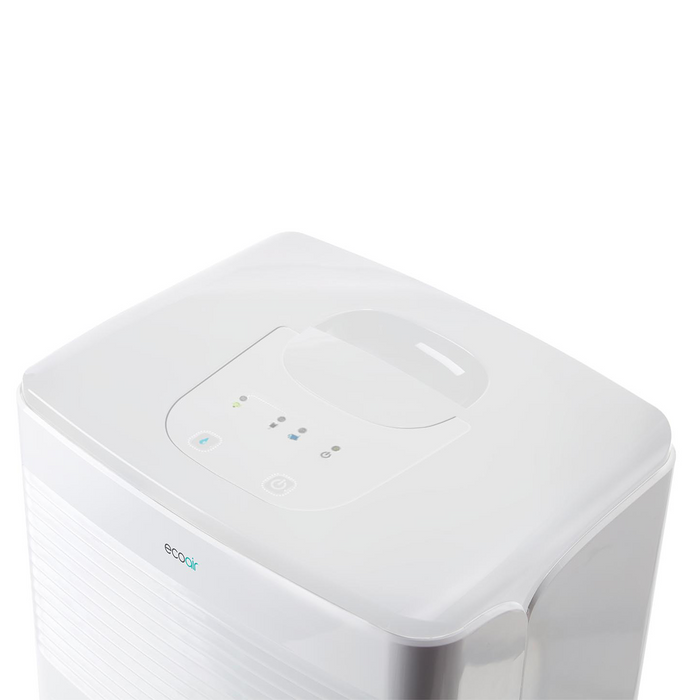 EcoAir Vebo Compact Portable Dehumidifier 12L per day - Certified Refurbished - Like New
