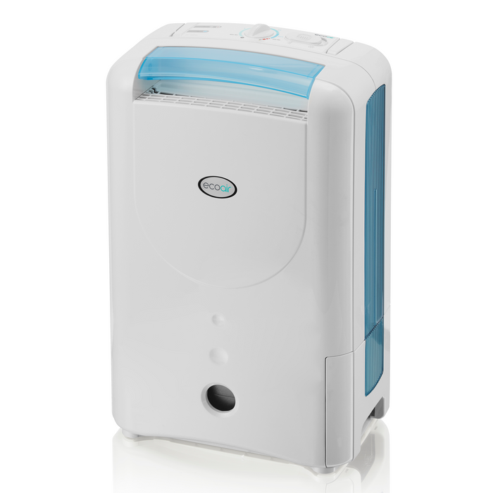 EcoAir DD1 Simple Desiccant Dehumidifier, 7L - Blue - Certified Refurbished