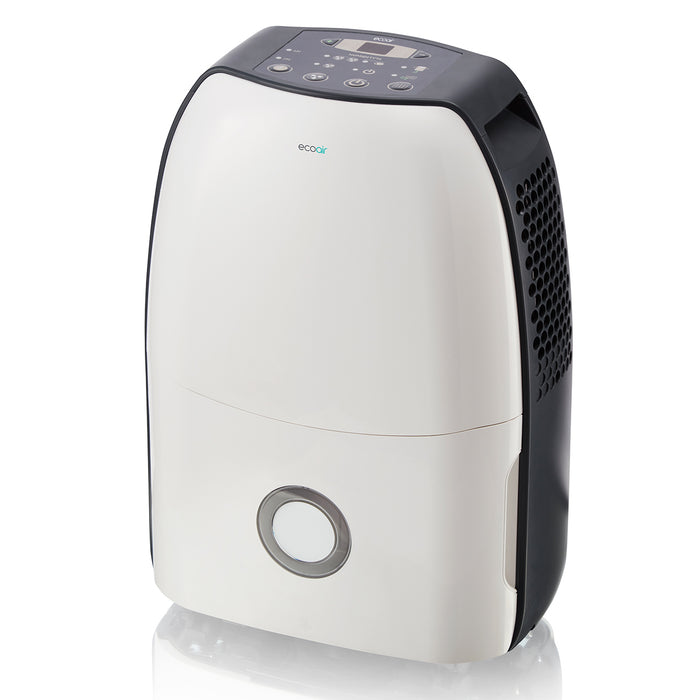 Save 38.38% - EcoAir DC12 Compact Portable Dehumidifier, 12L - Certified Refurbished