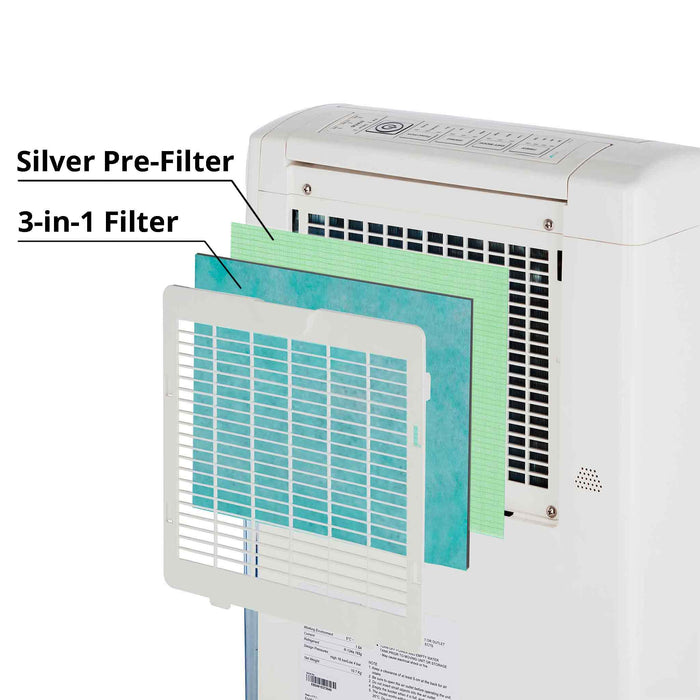 Filter - DC202 Hybrid Dehumidifier 3-in-1 Allergy, Charcoal & Deodorise Filter
